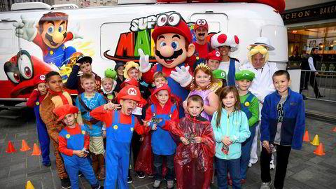 Super Mario er tilbake i et nytt spill og skal skape nye overskudd for det japanske spillselskapet Nintendo.