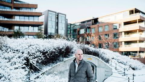 Tore Gjedebo, daglig leder i Investore as, vil selge familieaksjene i HitecVision. Her er han fotografert foran kontoret i Gamle Stavanger.