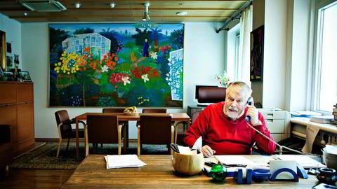 Den svenske medieinvestoren Lars Ander sto bak investeringene i Schibsted. Han døde i 2015.