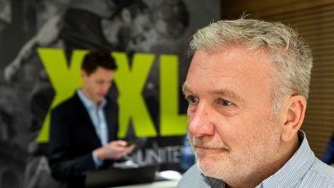 XXL-gründer Øivind Tidemandsens eget selskap har et papirtap på 69 millioner kroner etter at XXL-aksjen stupte fredag.