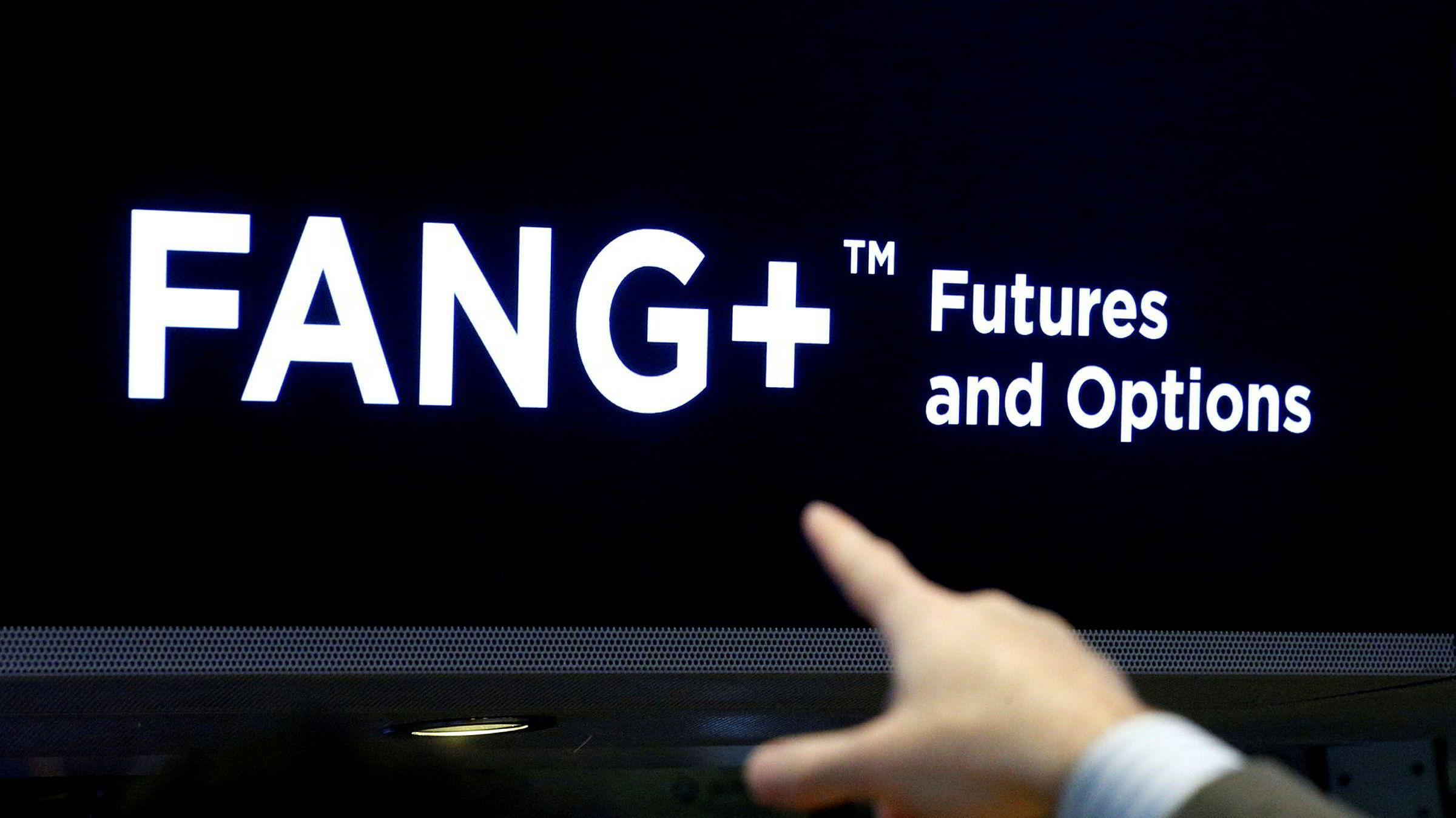 FANG-selskapene Facebook, Amazon, Netflix og Google (Alphabet) har lenge vært favoritter for teknologiinvestorer ved amerikanske børser. Spørsmålet er om de vil klare å innfri de skyhøye forventningene. Netflix skuffet stort på mandag.