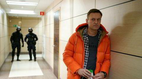 Stadig flere bekreftelser kommer nå på at den russiske opposisjonspolitikeren Aleksej Navalnyj ble forgiftet. Dette bildet ble tatt før han ble forgiftet.