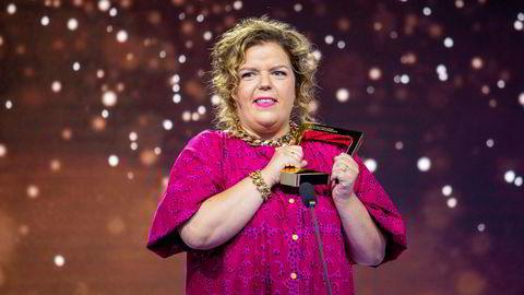 Else Kåss Furuseth mottok pris i kategorien underholdning under Gullruten 2020.