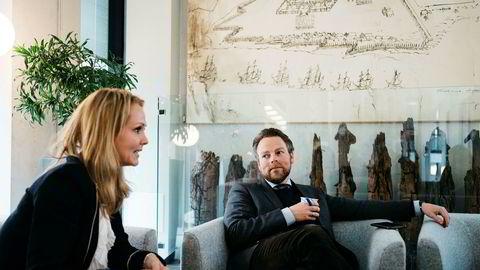 Barne- og likestillingsminister Linda Hofstad Helleland og næringsminister Torbjørn Røe Isaksen er ikke fornøyd med kjønnsbalansen i norsk næringsliv.
