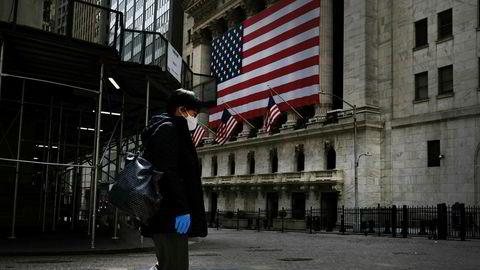 Uhyggen herjer de amerikanske markedene, og New York-børsen her falt tirsdag kraftig for andre dag på rad.