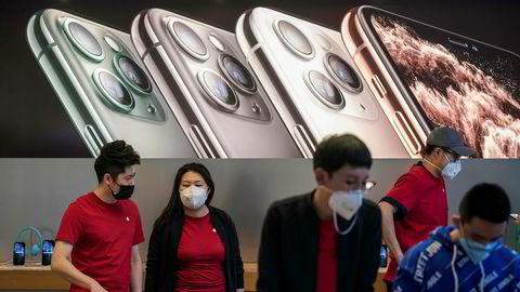 Apple stenger sine butikker i Kina frem til 9. februar.