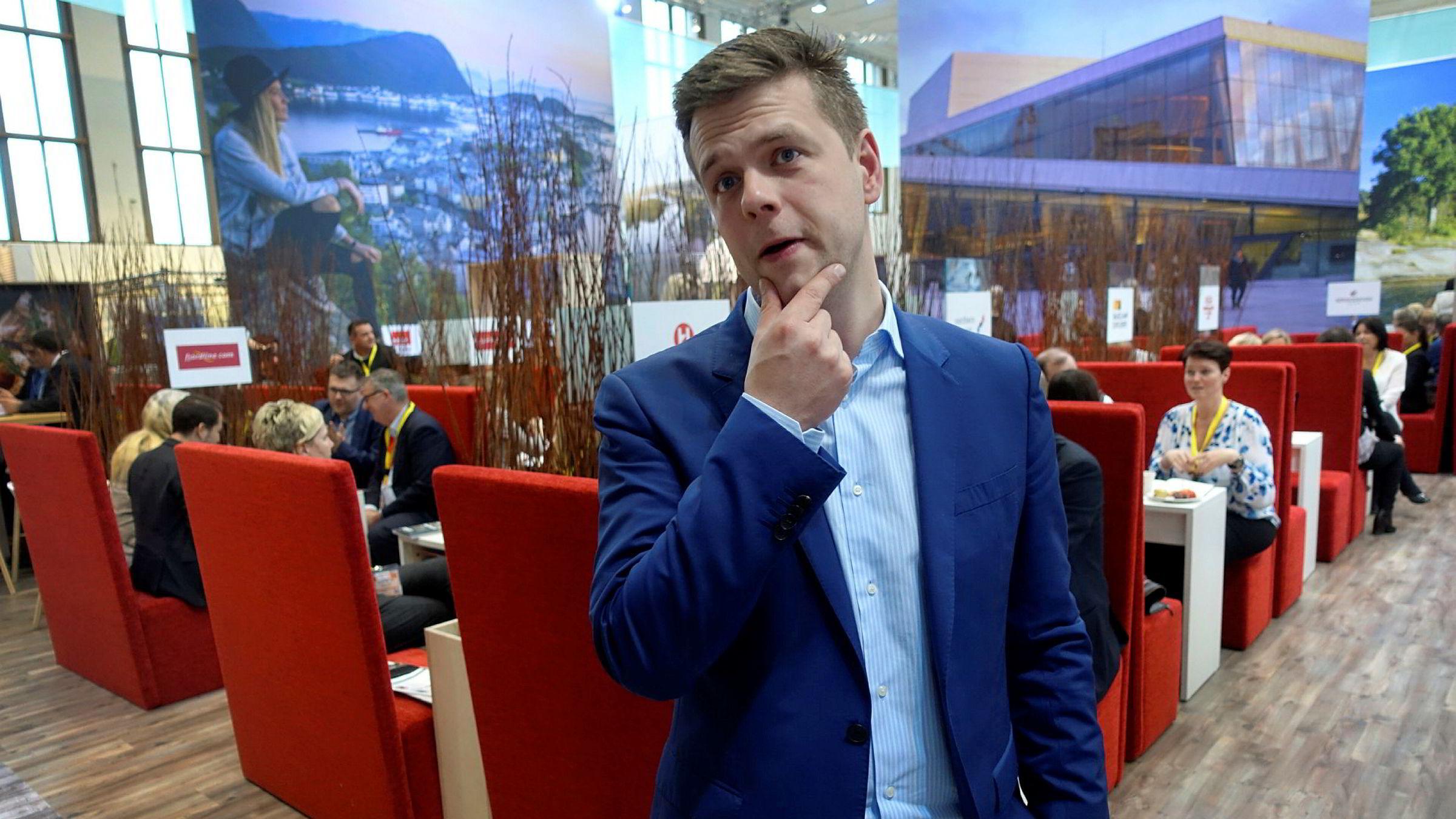 Manuel Kliese, direktør for Innovasjon Norge i Tyskland, erkjenner at turistveksten derfra flater ut. Men han er mer opptatt av å friste de riktige, det vil si de rike, turistene til å komme enn volum.