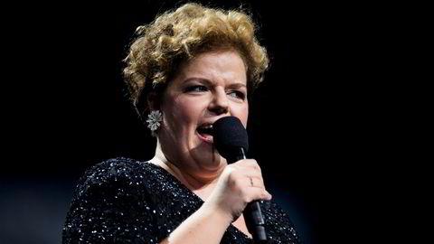 Komiker Else Kåss Furuseth hadde ikke et like godt regnskapsår i 2017 som i 2016. Her er hun på scenen under Nobels fredspriskonsert i 2016.