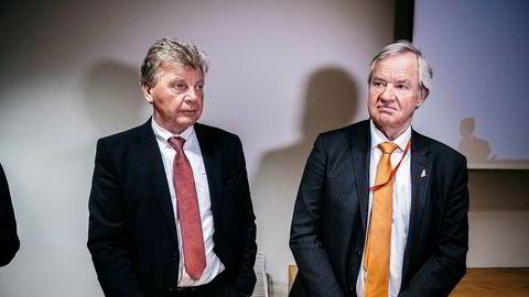 Norwegians grunnleggere, Bjørn H. Kise og Bjørn Kjos, gikk av som styreleder og konsernsjef i fjor. Siden har de gått under radaren og solgt seg ned.