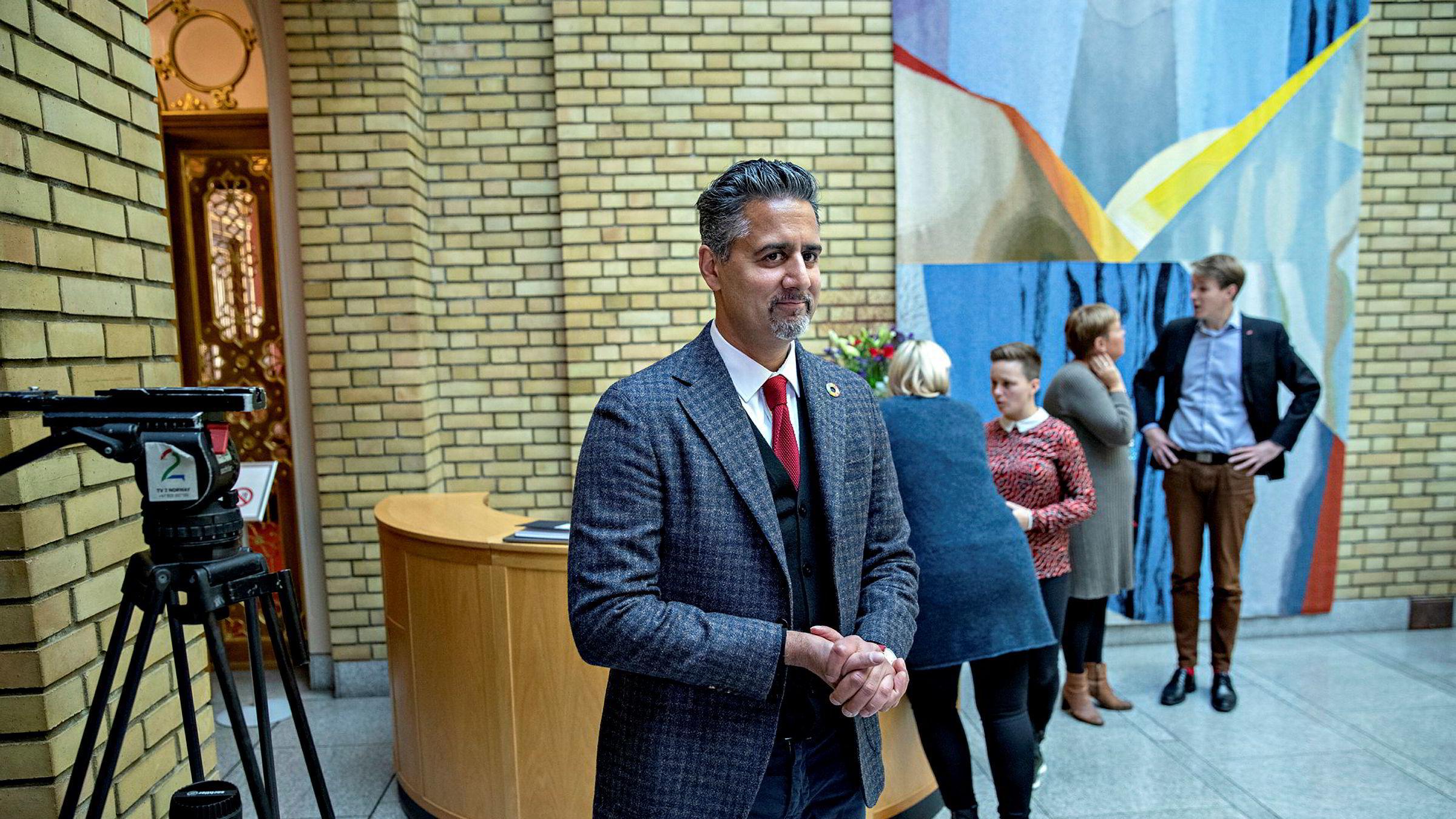 Venstres Abid Raja vil bli partileder.
