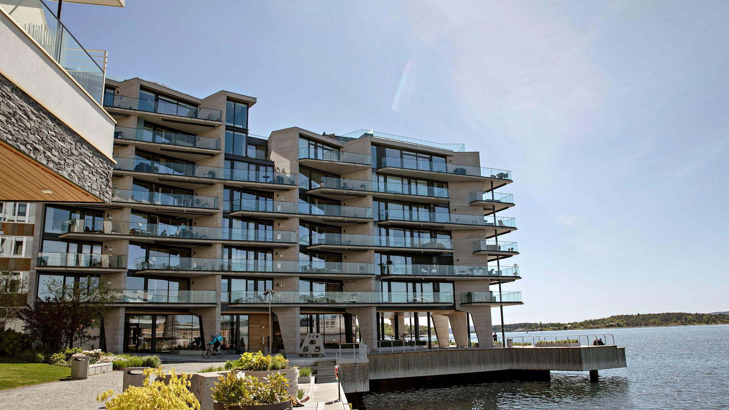 Stein Erik Hagen har kjøpt leilighet i 6. etasje ytterst på Tjuvholmen.