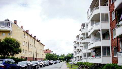 Boligprisene i Oslo falt 1,8 prosent i oktober sammenlignet med september.