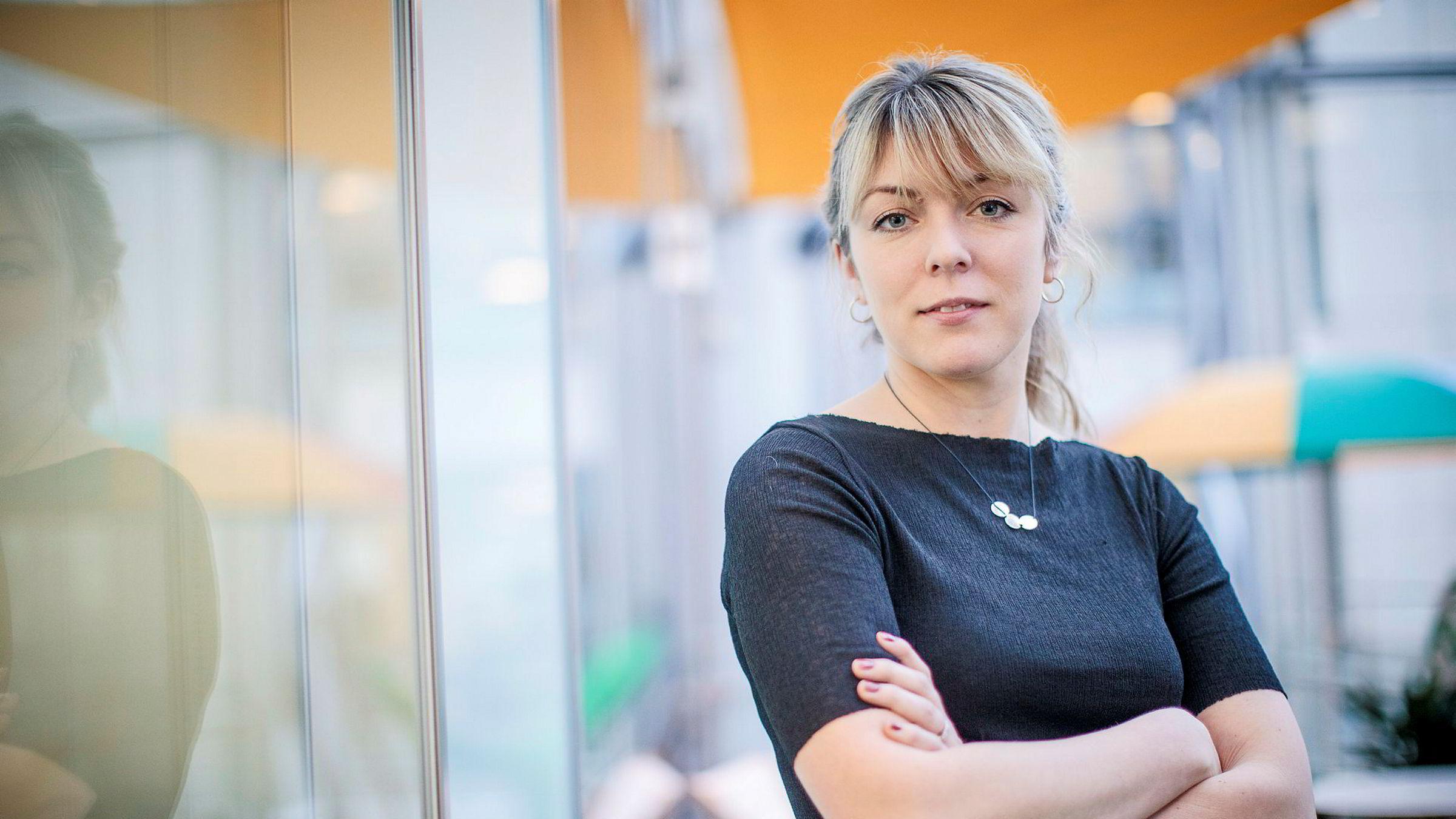 Helle Skjervold er klar for den nyopprettede stillingen som avdelingsleder for podcast i VG.