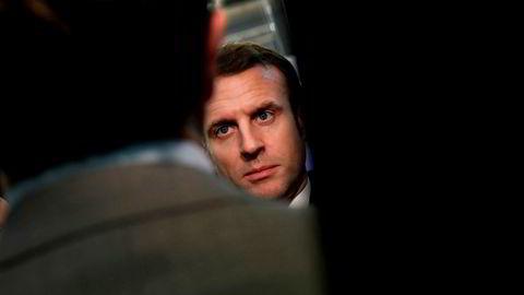 Frankrikes president Emmanuel Macron sier han er usikker på om EU og Storbritannia blir enige om en handelsavtale i år.