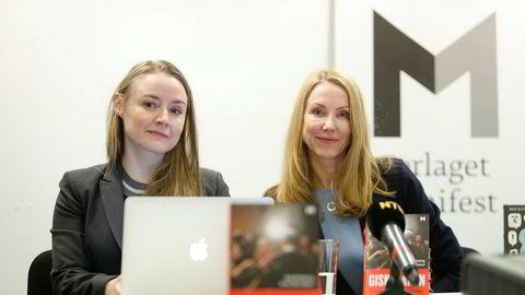 Førstelektor Anja Sletteland og professor Kristin Skare Orgeret kom denne uken med sin bok om Giske-saken.