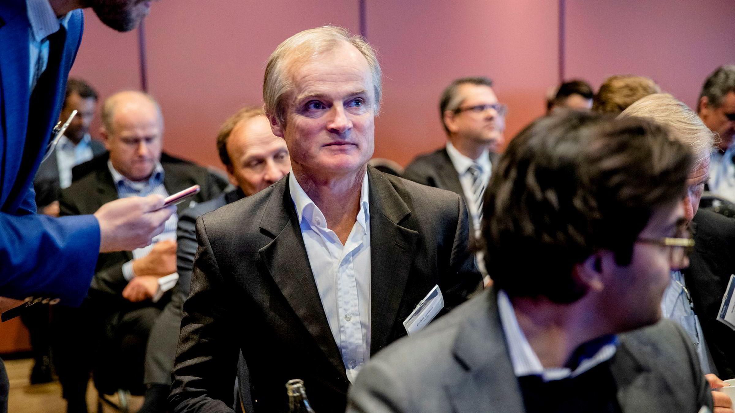Øystein Stray Spetalen på Pareto Securities Olje og Offshore konferansen på Holmenkollen Park hotell i 2019.