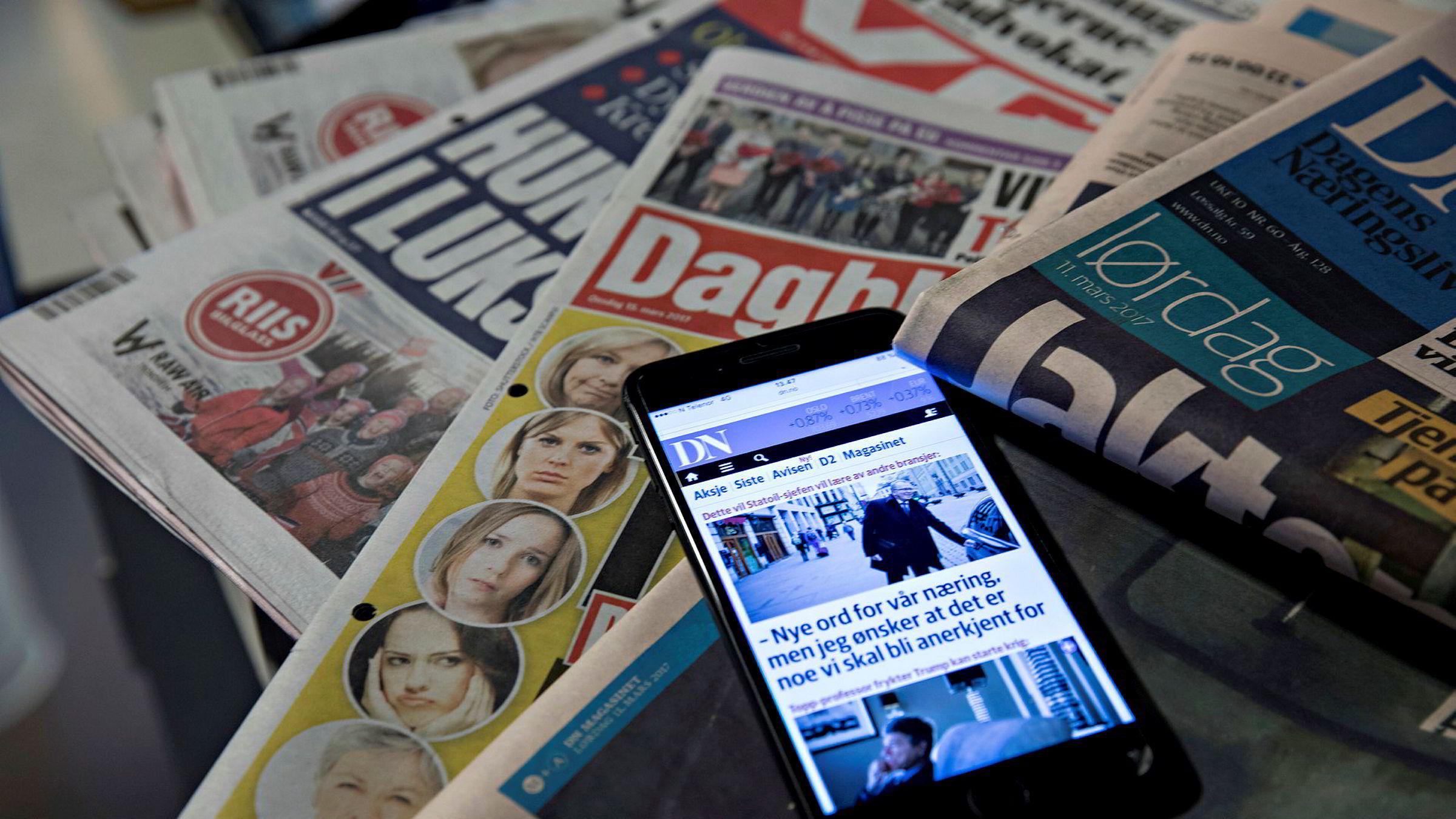 Nordmenn mener norske medier i hovedsak er til å stole på, ifølge ny måling.