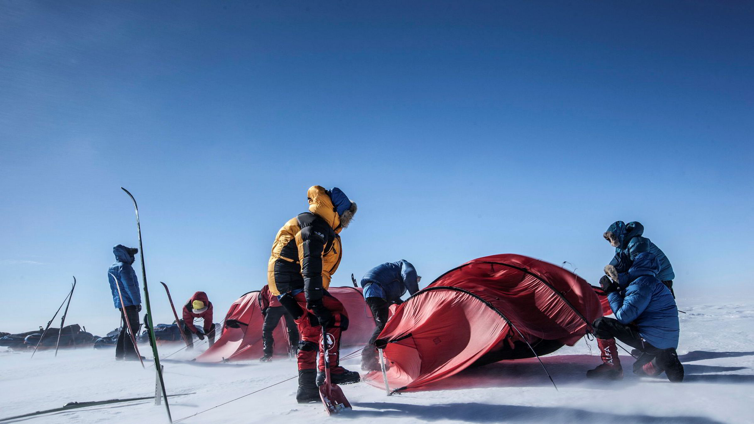 Grønlandskryssing med ski og pulk Hvitserk