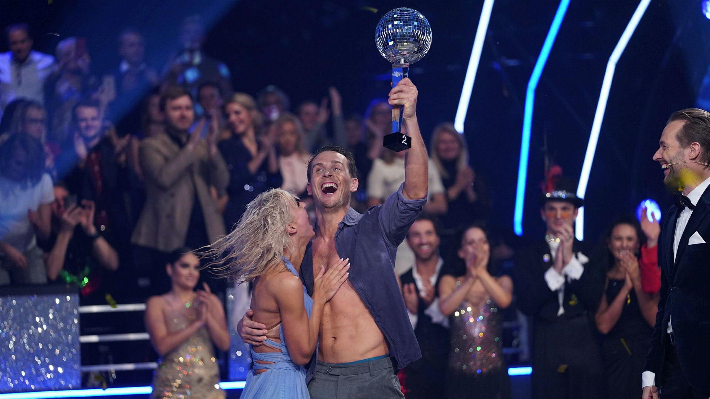 Aleksander Hetland og Nadya Khamitskaya vant Skal vi danse-finalen.