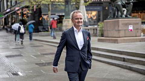 Jan-Frode Janson, konsernsjef i Sparebank 1 SMN, forteller at det var spesielt én kunde som bidro til høye tap i første kvartal.
