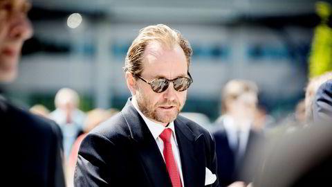Kjell Inge Røkkes Aker BP ned over ti prosent onsdag.