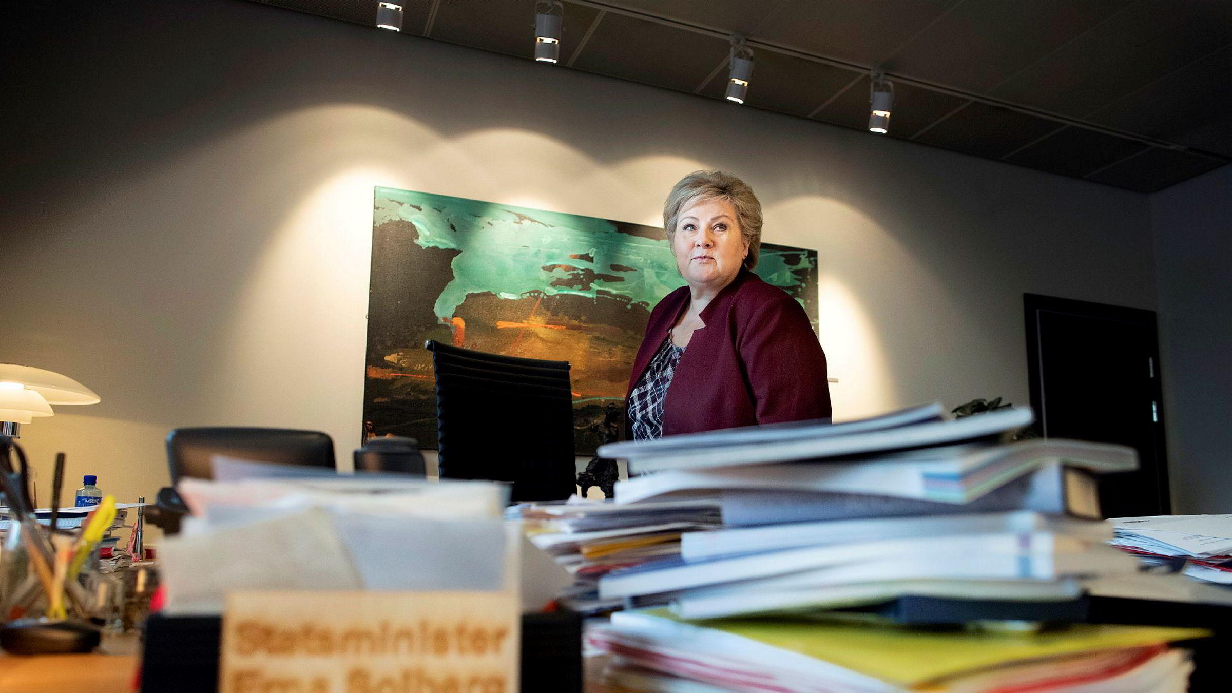Equinor sendte en egen redegjørelse til Statsministerens kontor og statsminister Erna Solberg da det ble kjent at selskapet har tapt over 200 milliarder kroner på sin satsing i USA.