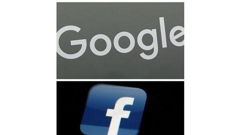 Google og Facebooks businessmodeller, som bygger på store mengder datainnsamling, truer menneskerettighetene, fastslår Amnesty i en rapport. FOTO: AP / NTB scanpix