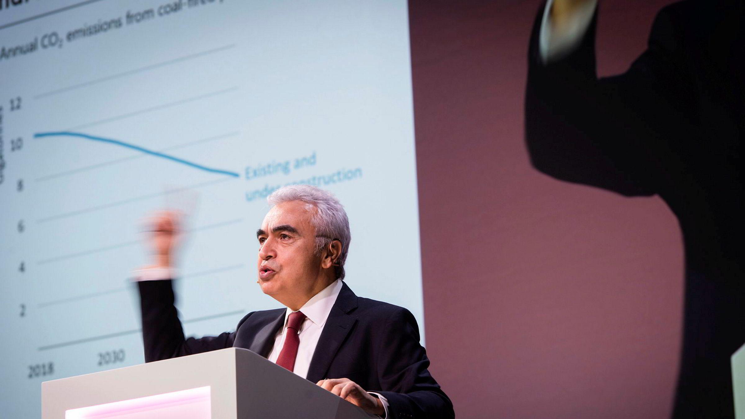 Toppsjef Fatih Birol i Det internasjonale energibyrået (IEA) tror veksten i etterspørselen etter olje  vil øke i år.