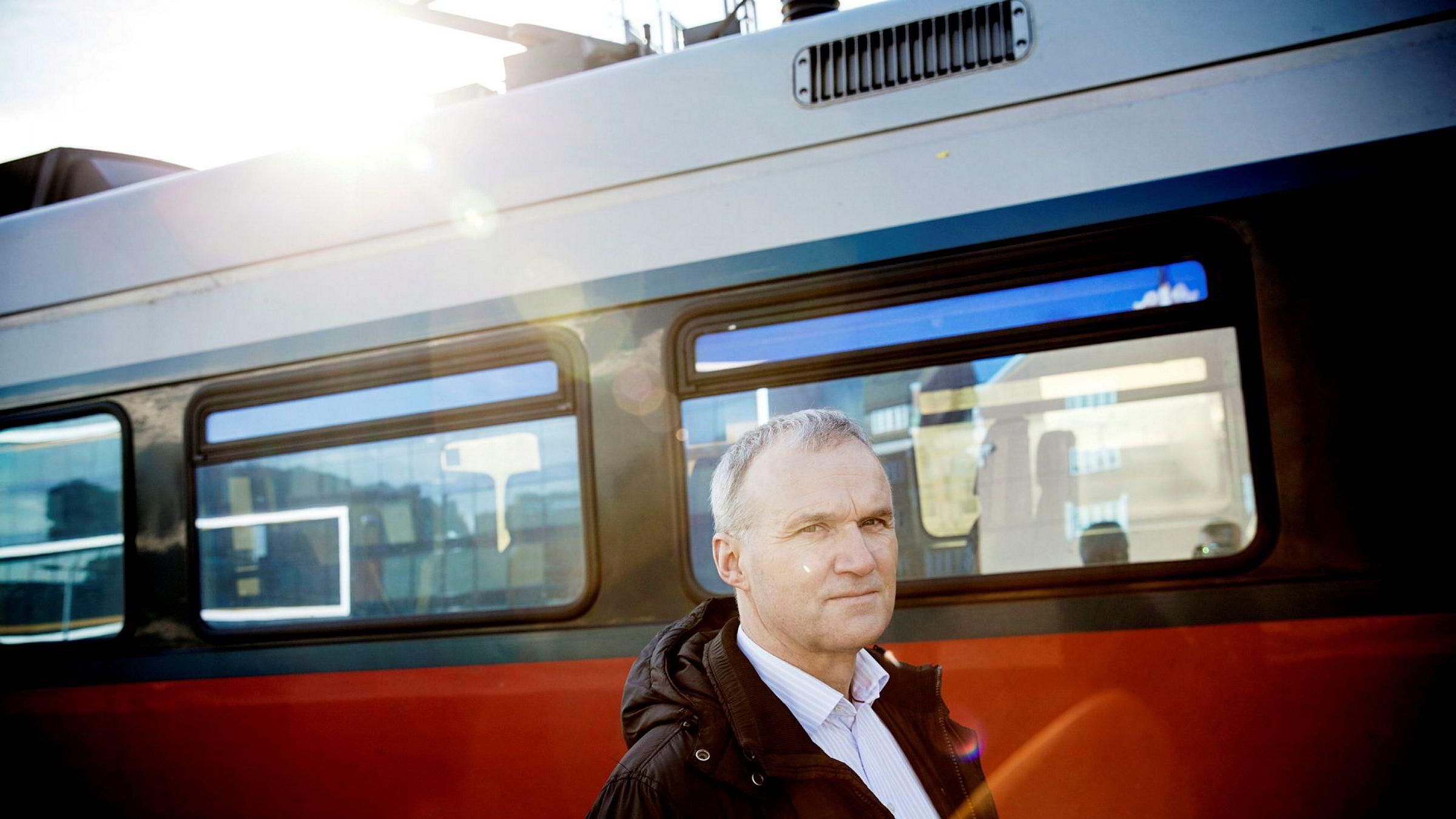Konsernsjef Geir Isaksen i Vy har vært i selskapet siden 2011.