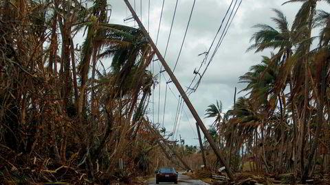 Puerto Rico ble hard rammet av orkanen Maria. Mye av øya mangler elektrisitet, drikkevann og tilstrekkelig med mat.