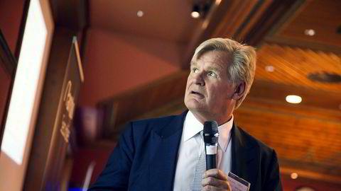 Investor Tor Olav Trøim i Borr Drilling under Paretokonferansen 2018. ---
