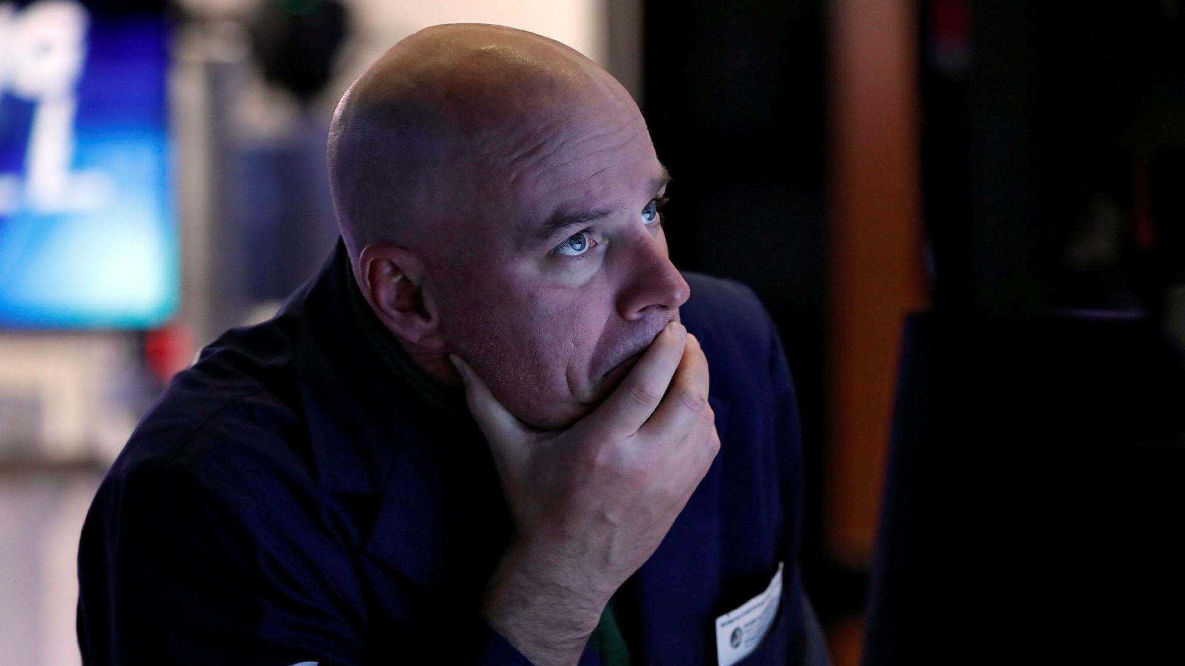 Frykt for resesjon sender Wall Street-pilene nedover.