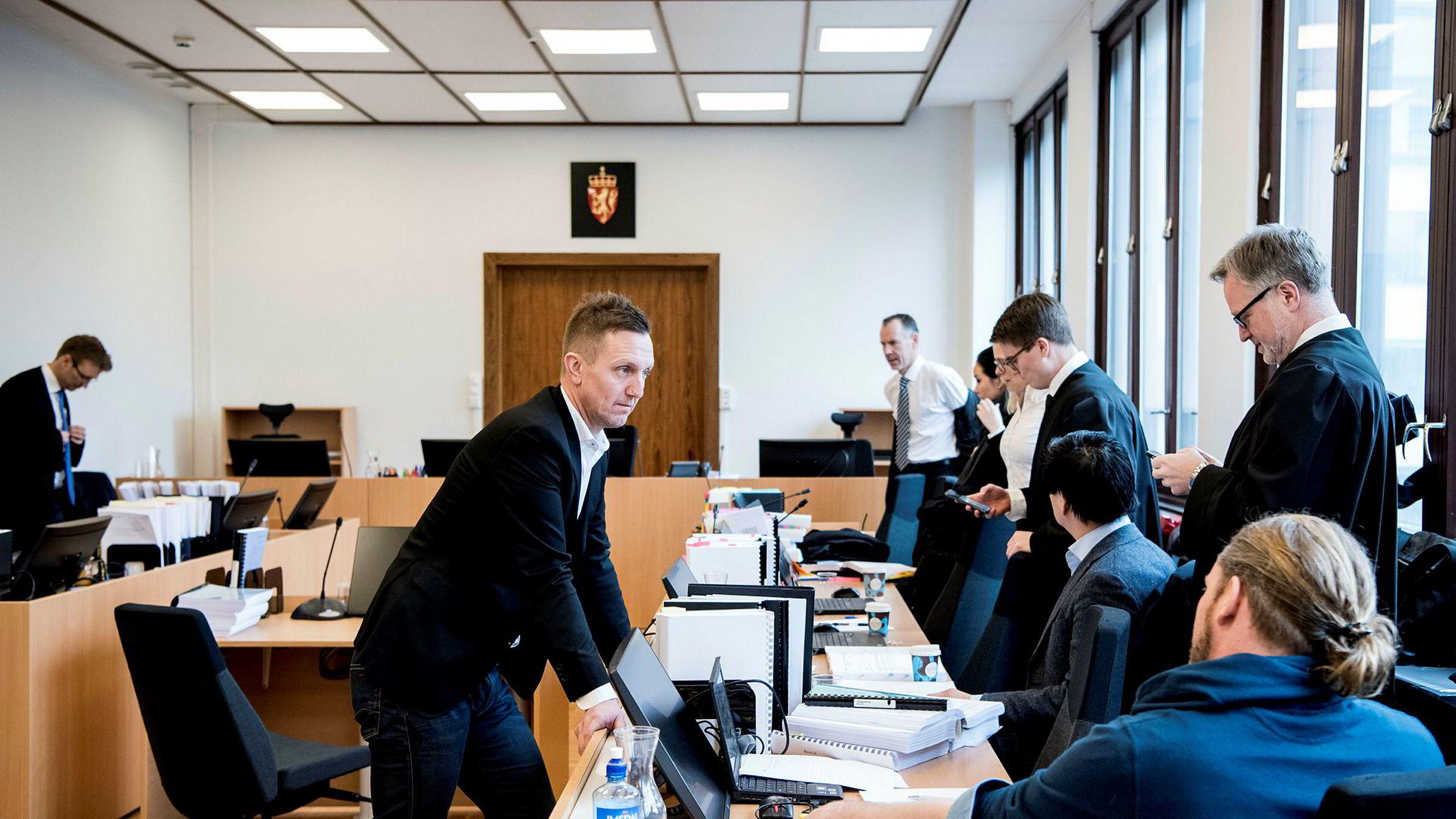 Kjetil Andersen gikk til frontalangrep på sin tidligere kollega Alfred Ydstebø da han avga sin forklaring i retten torsdag.