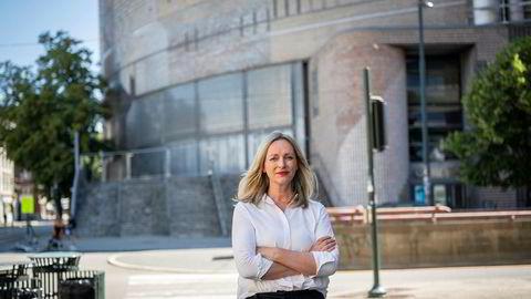 Gunn Helen Hagen, administrerende direktør i Oslo Spektrum og Norges Varemesse, har permittert 80 prosent av sine ansatte.