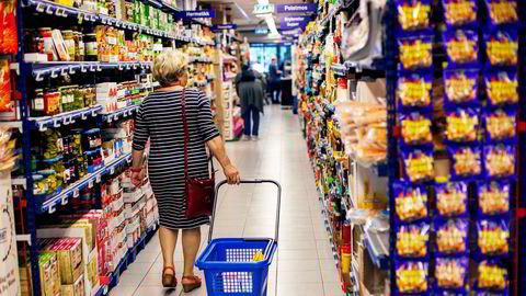 Matvareprisene steg ett prosent fra mars til april.