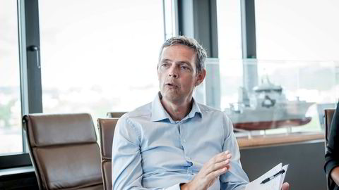 Råvareanalytiker Bjarne Schieldrop i SEB.