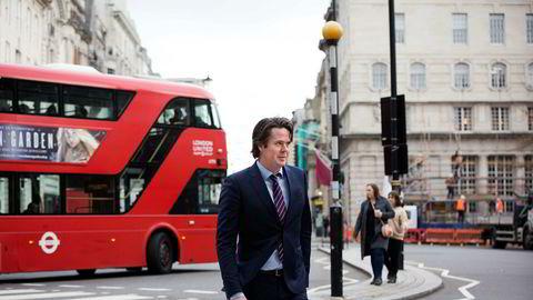 Espen Westeren (bildet) har startet opp hedgefondet Titan Opportunities de siste to årene, og treffer investorer og forvaltere i Londons finansdistrikt Mayfair. Sammen med hovedinvestor Fredrik Halvorsen, gjennom Ubon Partners, jakter han nye investorer.