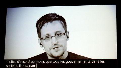 Edward Snowden kritiserer Norge.