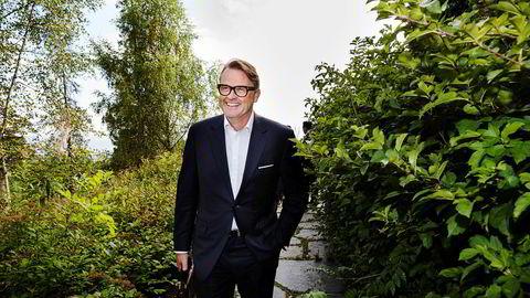 Investor Riulf Rustad, her på Pareto-konferansen i Holmenkollen ved en tidligere anledning.