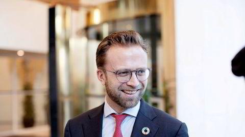 Kommunal- og moderniseringsminister Nikolai Astrup (H).