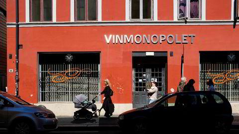 Vinmonopolet på Grünerløkka i Oslo.