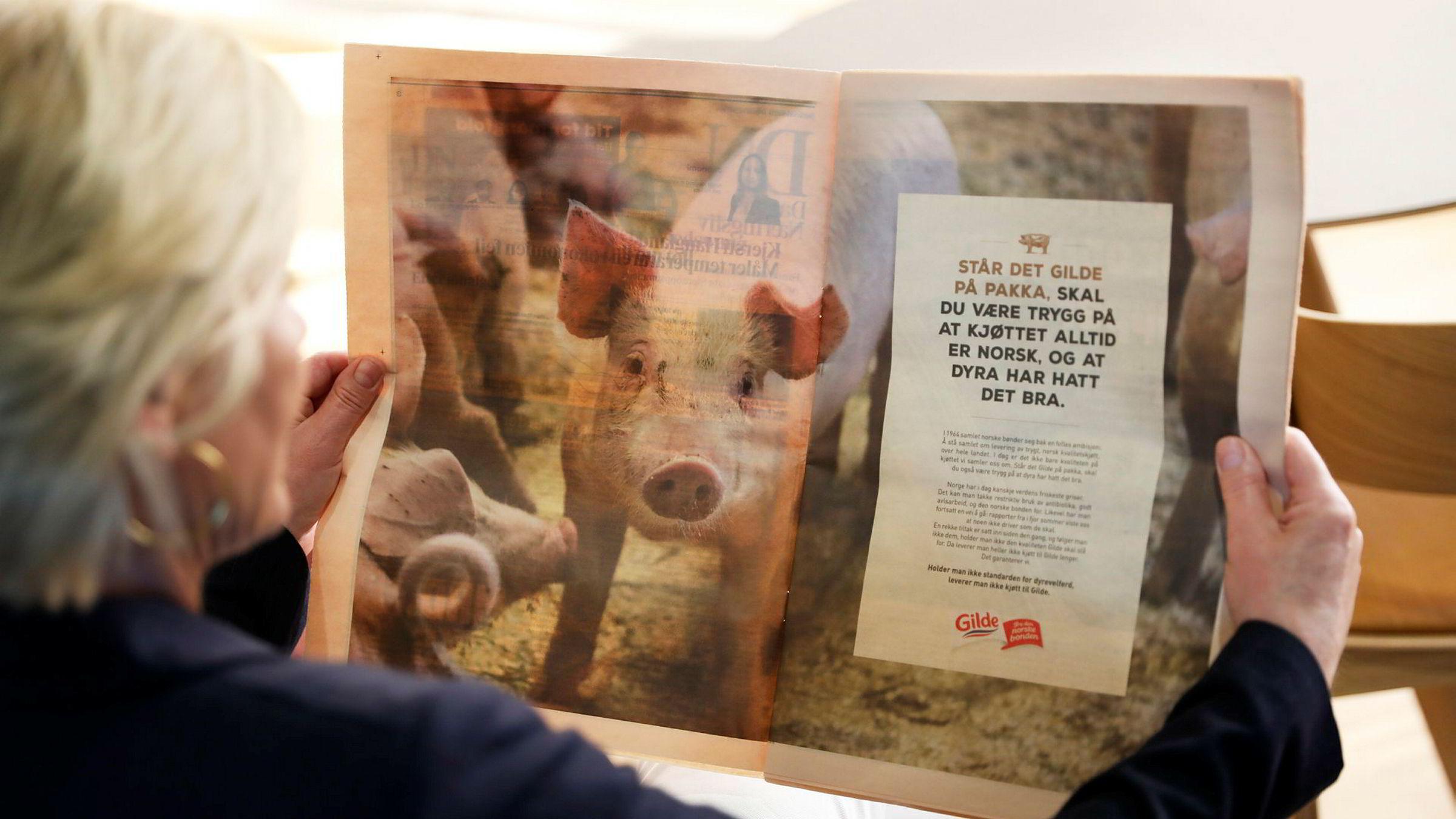 Flere forbrukere ble provosert av annonsen for norsk svinekjøtt etter at NRK sendte sjokkdokumentaren «Griseindustriens hemmeligheter»