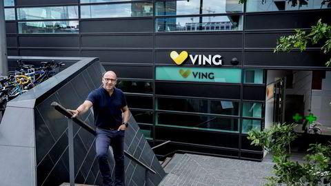 Christian Fredrik Grønli, administrerende direktør og daglig leder i Ving As. Ving er heleid av Thomas Cook Group, som gikk konkurs mandag. (Foto: Fredrik Bjerknes)