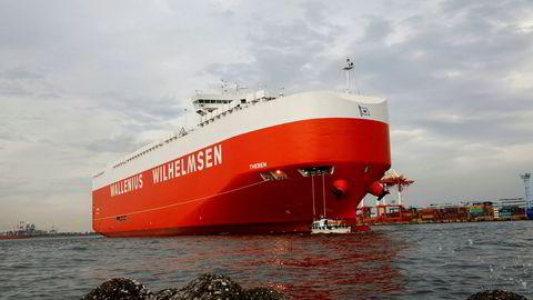 Bilfraktrederiet Wallenius Wilhelmsen holdes frem som et hederlig unntak av PwC når det gjelder rapportering av virksomhetens effekt på havmiljøet.
