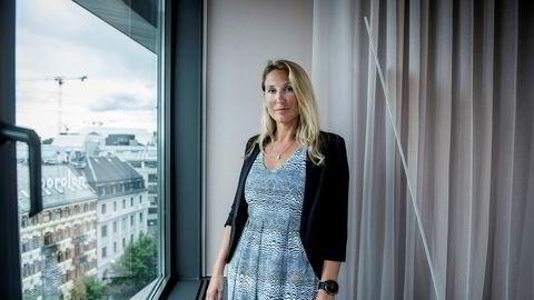Sjefstrateg Erica Blomgren Dalstø tror kronen kan fortsette å styrke seg fremover, men mener de positive markedene utgjør en risiko.
