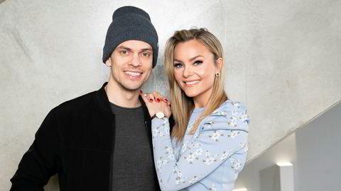 Caroline Berg Eriksen og Lars-Kristian Eriksen driver selskapet Treasures sammen.