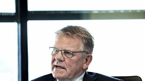 Samherji har brukt store ressurser på granskningen av operasjonene Johannes Stefánsson tidligere ledet, skriver Samherji-sjefen Björgólfur Johannsson, her på besøk hos advokatfirmaet Wikborg Rein i Oslo i fjor.