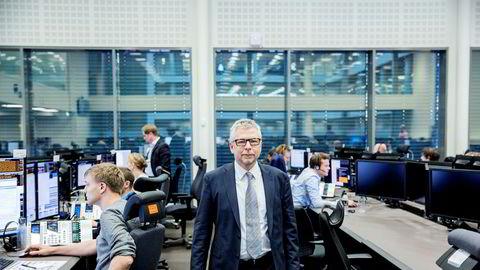 Sjefanalytiker Erik Bruce i Nordea Markets tror avklaringen av presidentvalget i USA er godt nytt for aksjemarkedet.