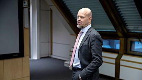 Administrerende direktør Yngve Slyngstad i Oljefondet.