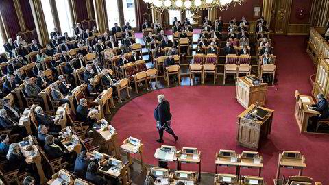Det er en god grunn til at Stortingets møter er lukkede, skriver innleggsforfatteren.